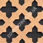 Oregon Cross Shaped MDF Screening Panel