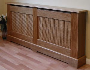 custom cabinet oak veneered