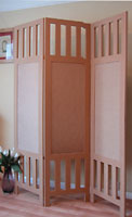 Room divider - 3 panel contemporary