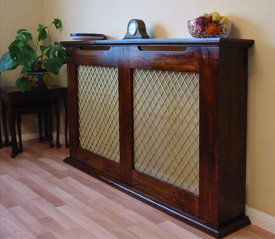 Pine Radiator Cover Rustic Furniture By Coverscreen Uk